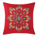 Fiesta Medallion Throw Pillow