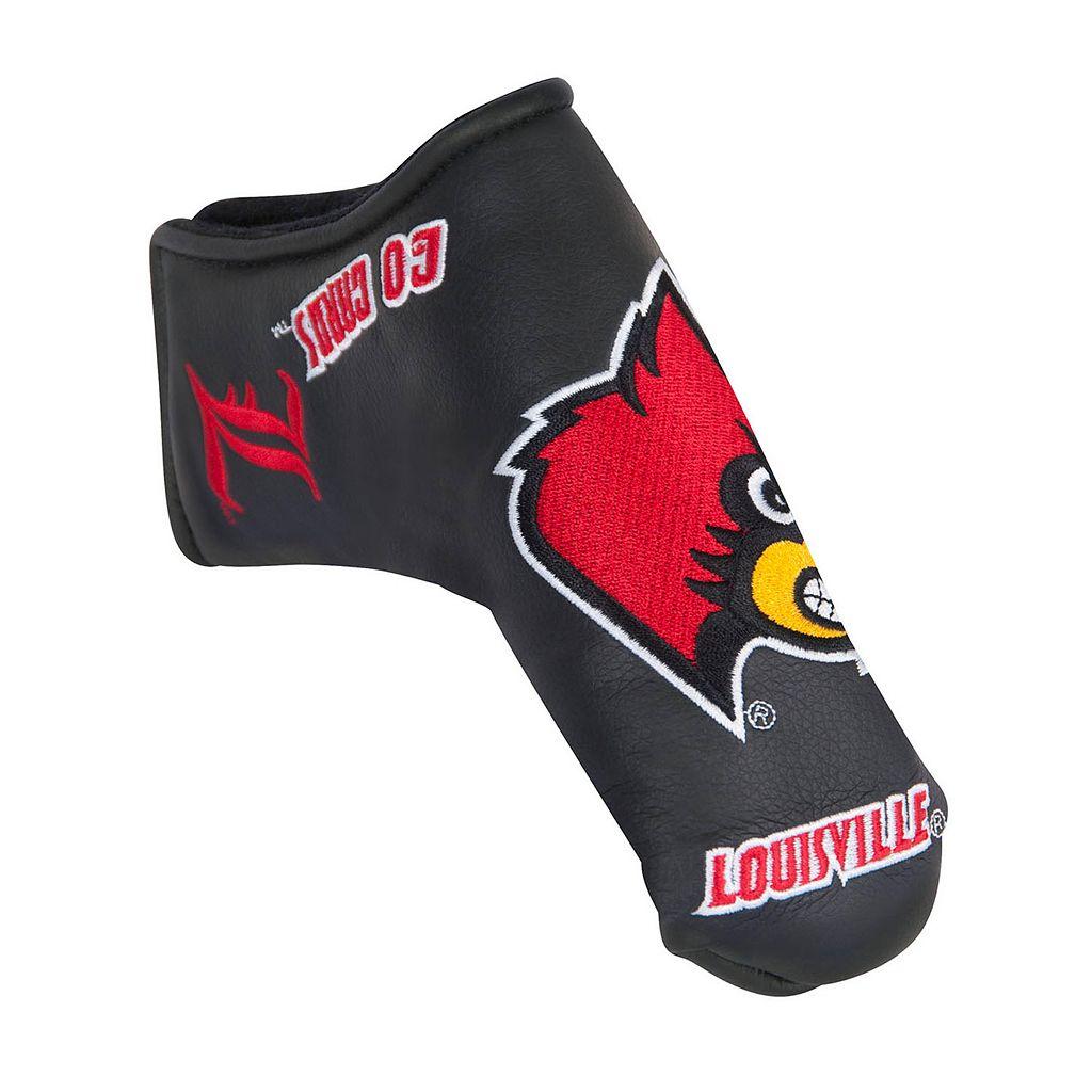 Team Effort Louisville Cardinals Blade Putter Cover