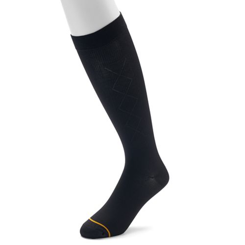 Men's GOLDTOE Over-The-Calf Mild Compression Socks