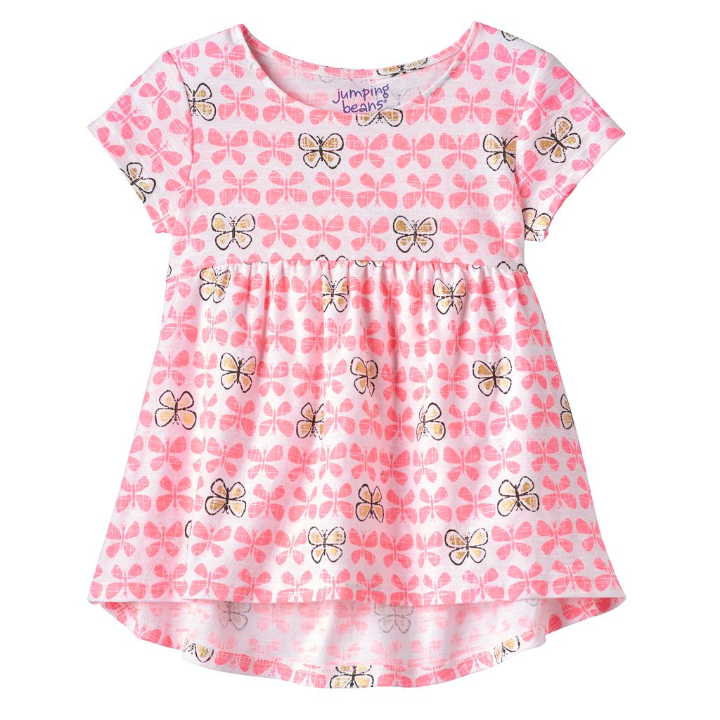 Toddler Girl Jumping Beans® Print High-Low Hem Tunic
