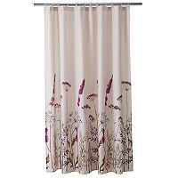 Home Classics® Botanical Floral Print Shower Curtain