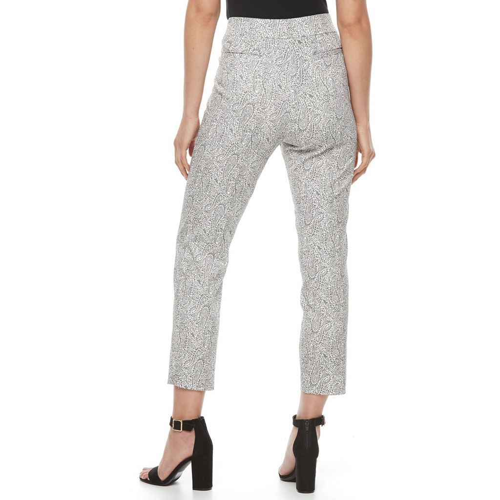 Women's Briggs Printed Pull-On Ankle Pants