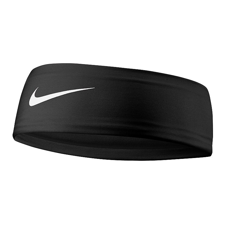 Nike Fury 2.0 Headband, Grey Keep your hair under control and the sweat off your brow with this classically styled Nike Fury headband. Dri-FIT moisture-wicking technology No-slip silicone grips Embossed swoosh logo FIT & SIZING 2.5-in. width 17.3-in. circumference FABRIC & CARE Polyester, spandex Machine wash Imported Size: One Size. Color: Charcoal. Gender: female. Age Group: adult.