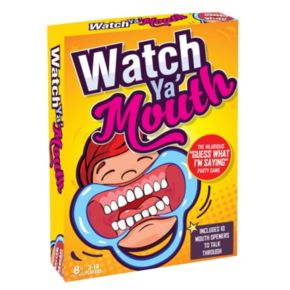 Watch Ya' Mouth Family Edition Game by Buffalo Games