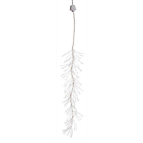 144 Light Warm White Multi-Function LED Snowfall Indoor Christmas Lights