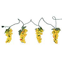 Northlight Tuscan Winery Green Grape Novelty Christmas Lights
