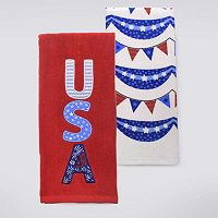 Celebrate Americana Together USA Kitchen Towel 2-pk.