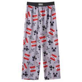 Boys 8-20 Minecraft Lounge Pants