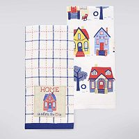 Celebrate Americana Together House Kitchen Towel 2-pk.