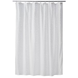 Home Classics® Glance Fabric Shower Curtain