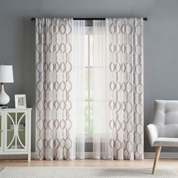 VCNY Weston 4-pack Window Curtains