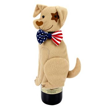 Celebrate Americana Together Dog Wine Cover