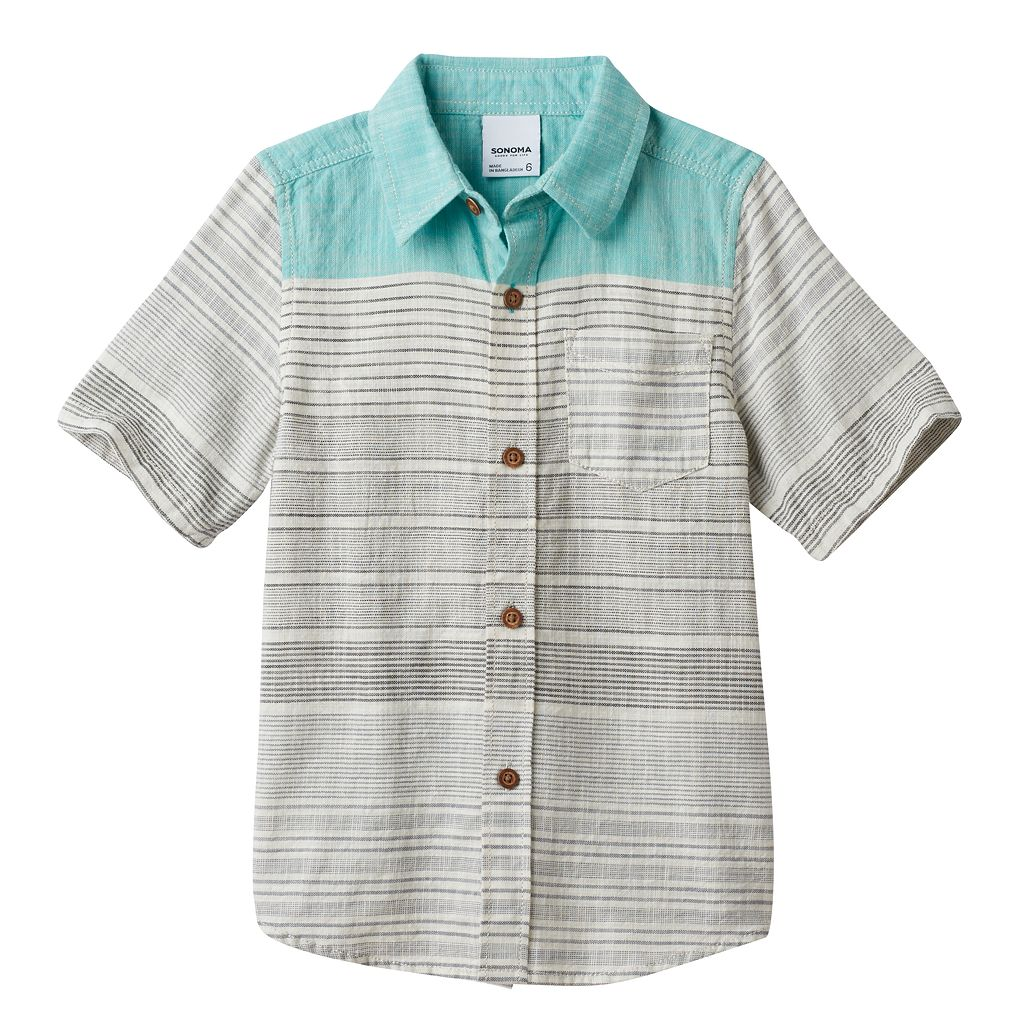 Boys 4-7x SONOMA Goods for Life™ Woven Shirt