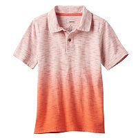 Boys 4-7x SONOMA Goods for Life™ Dip-Dyed Slubbed Polo