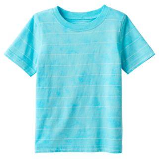 Baby Boy Jumping Beans® Tie-Dye Effect Striped Tee