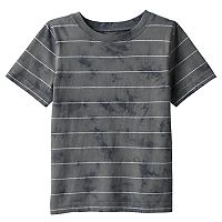 Baby Boy Jumping Beans® Tie-Dye Effect Striped Tee