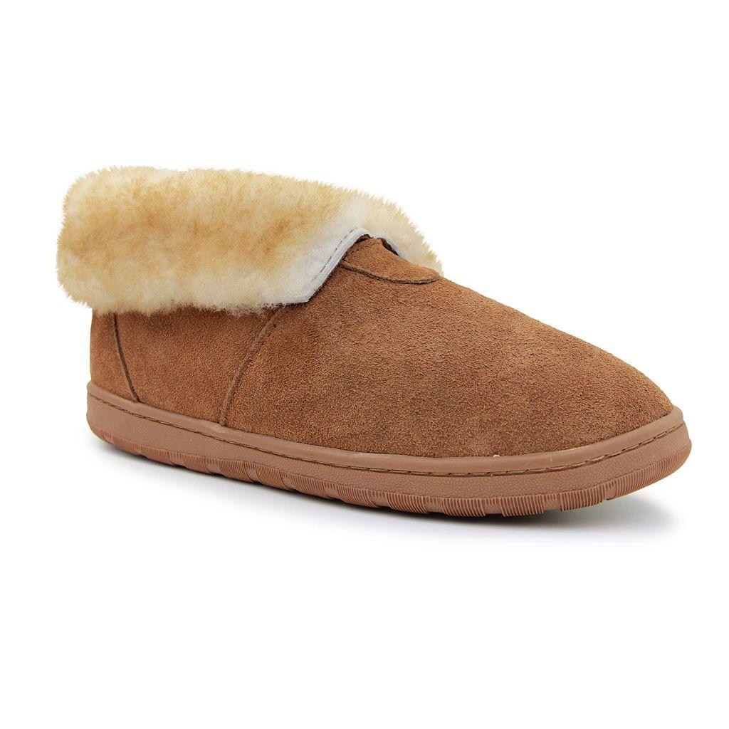 LAMO Men's Shearling Bootie Slippers