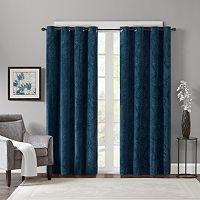 Madison Park 2-pack Cecil Velvet Window Curtains