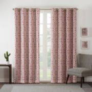 Intelligent Design Blackout 1-Panel Arlo Window Curtain