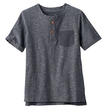 Boys 4-7x SONOMA Goods for Life™ Textured Henley Tee