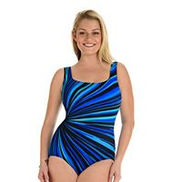 Women's Great Lengths Body Sculptor Printed One-Piece Swimsuit