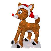 Northlight Pre-Lit Rudolph the Red-Nosed Reindeer Christmas Yard Decor