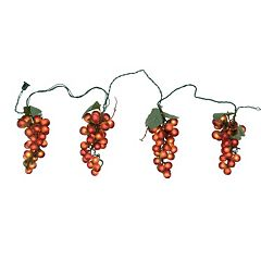 Northlight Tuscan Winery Purple Grape Novelty Christmas Lights