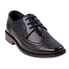 Joseph Allen Boys' Wingtip Dress Shoes