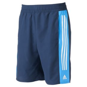 Big & Tall adidas Colorblock Microfiber Volley Swim Trunks