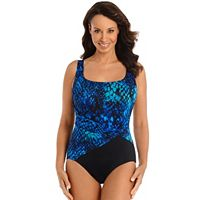 Women's Great Lengths Cheating Cheetah Tummy Slimmer Swimsuit
