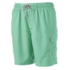 Big & Tall SONOMA Goods for Life™ Microfiber Swim Trunks