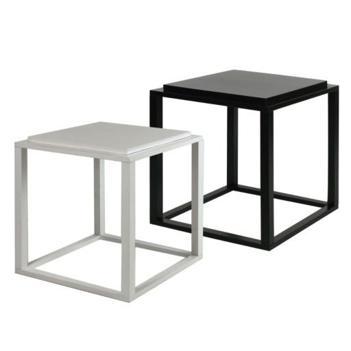 Casual Home Modular 2-Unit Stacking Cube Tables