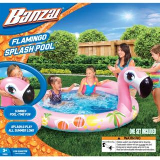 Banzai Flamingo Splash Pool