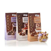 Godiva Assorted Wrapped Chocolate Dessert Truffles Gift Set