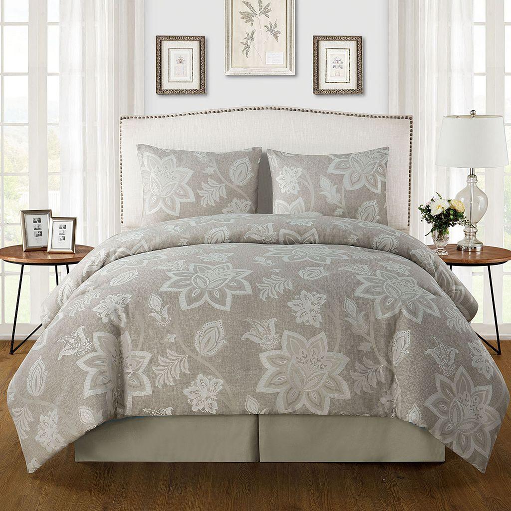 VCNY 4-piece Ramona Comforter Set