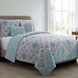 VCNY Home Windsor Quilt Set