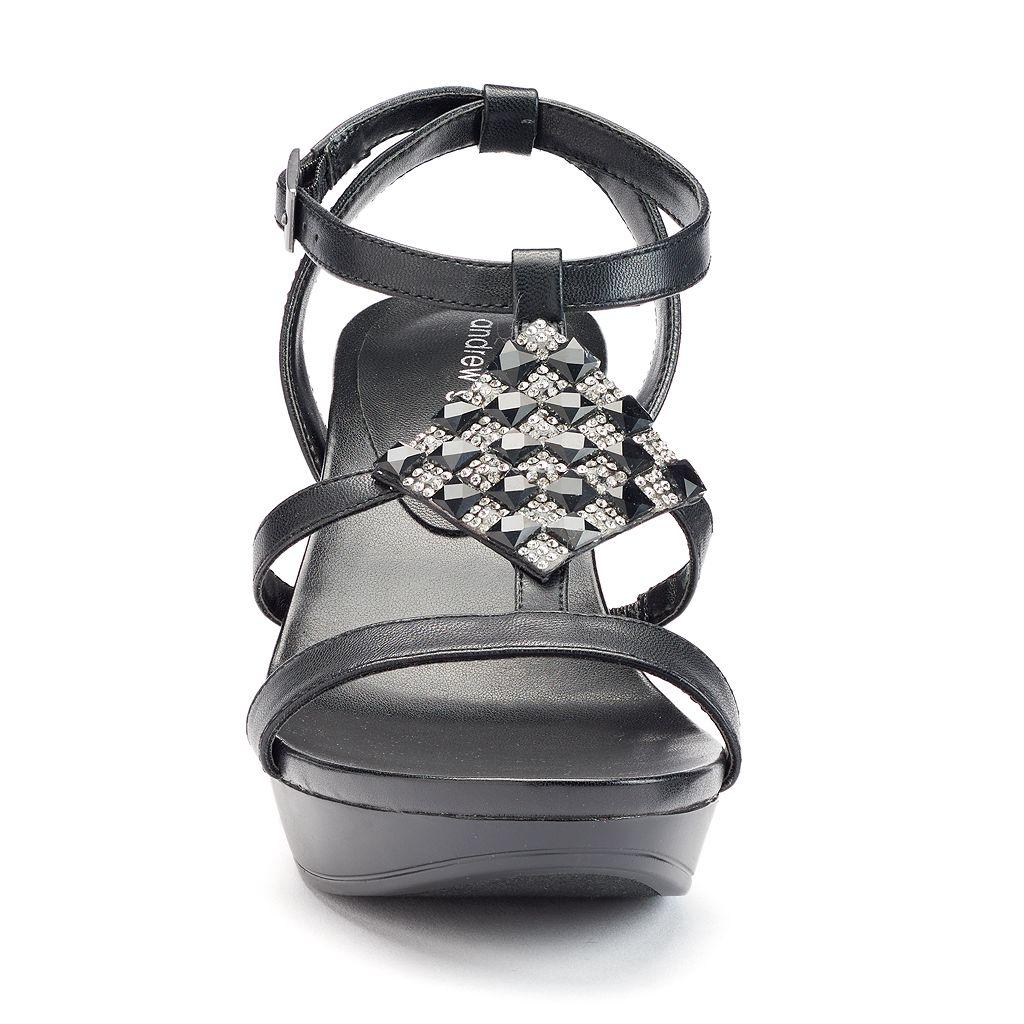 Andrew Geller Alexandra Women's Wedge Sandals