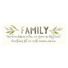 Artissimo 'Family Branches' Canvas Wall Art