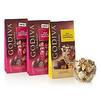 Godiva Wrapped Milk Chocolate Gift Set