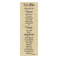 Artissimo Our Father Canvas Wall Art