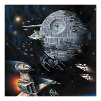 Star Wars Death Star Return of the Jedi Canvas Wall Art