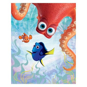 Disney's Finding Dory Hank Peeking & Friends Canvas Wall Art
