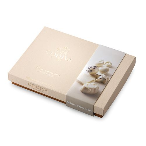 Godiva White Chocolate Gift Box (24-Piece)