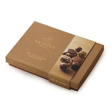 Godiva Chocolate Nut & Caramel Gift Box (19-Piece)