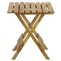 Casual Home Folding Small Table