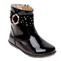 Laura Ashley Toddler Girls' Glossy Boots