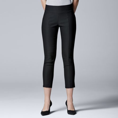 Women's Simply Vera Vera Wang Twill Cropped Skinny Pants