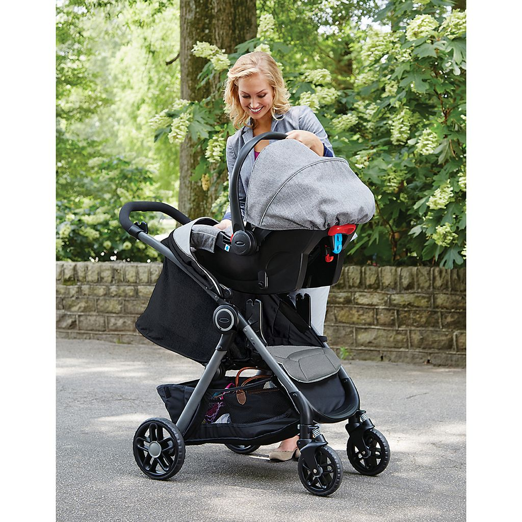 Graco FastAction DLX Click Connect Stroller