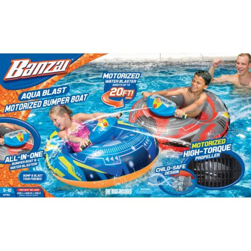 Banzai Aqua Blast Motorized Bumper Boat