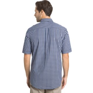 Men's Arrow Hamilton Classic-Fit Plaid Poplin Button-Down Shirt